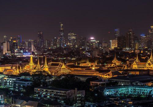 Skyline in Bangkok