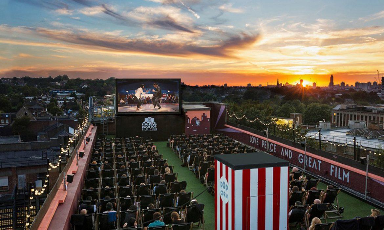 Roof top Cinema Peckham