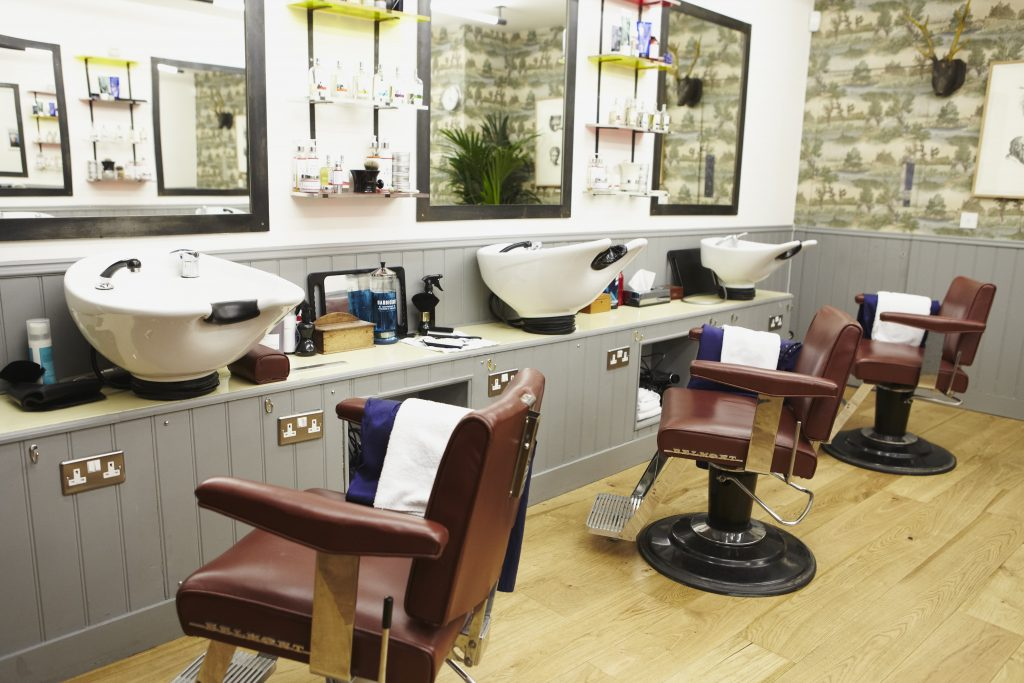 Murdock Shoreditch - Barber Seats