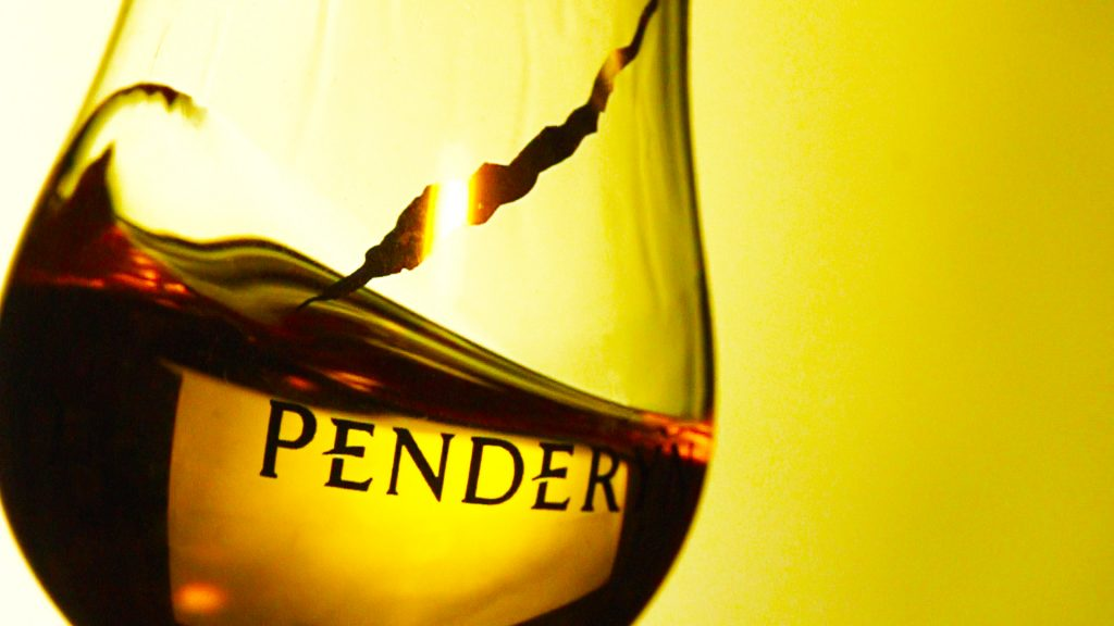 Penderyn - Swirling Glass