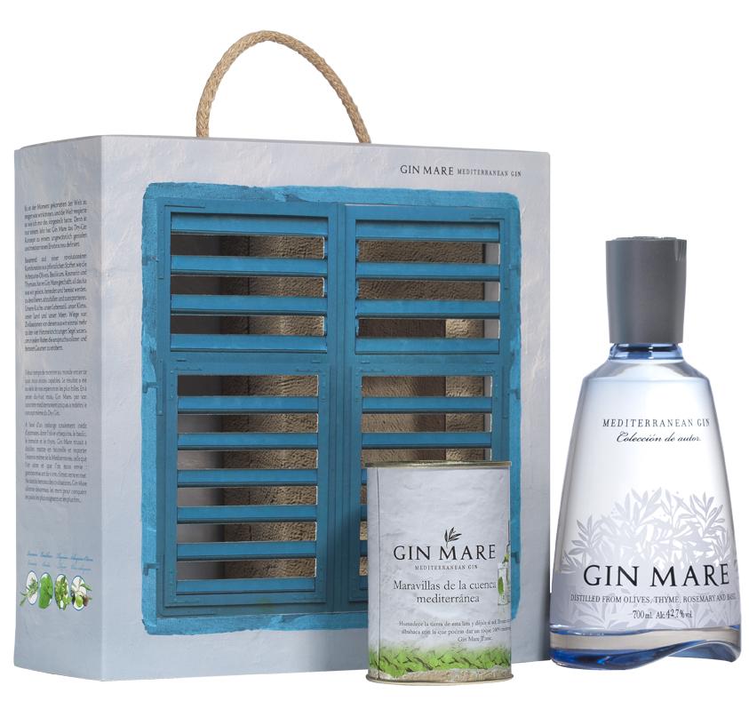 Gin mare box set
