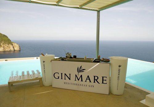 Gin marie pool set up