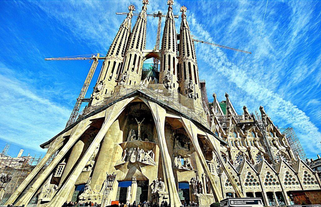 Sagrada Familia - Front View Landscape