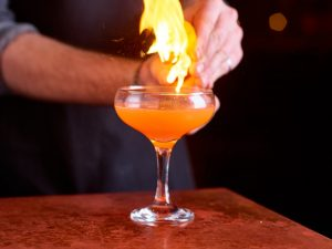 Fire Cocktail - The Alchemist