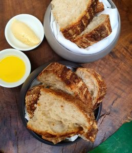 Bread, Butter, Oil - Dish
